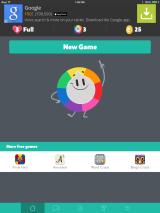 Trivia Crack iPad The only option I have is new game.