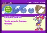 Puyo Pop Fever PlayStation 2 Starting a single player game<br>First the player must complete the RunRun course which is, in effect, a game tutorial