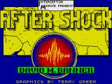 After Shock ZX Spectrum Loading Screen