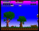 Plexu: The Time Travellers Amiga Level 1 Forest
