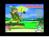 "Robin Hood: Forest Adventures Windows Title screen : notice the ""enter code"" option"