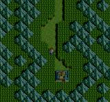 Inindo: Way of the Ninja SNES World map by night...