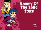 Enemy of the Solid State Windows Title screen