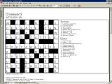 Crossword Buff 501 Windows When the player needs help the only option is to view the full puzzle solution, there is assistance at the no single clue level