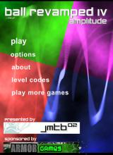 Ball Revamped IV: Amplitude Browser Main menu