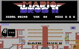 Mario Bros II Commodore 64 Drop 3 crates and it's game over