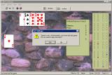 Net Cribbage Windows Game over<br>The player lost but at least the game is polite about it