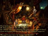 The Curse of Monkey Island Windows An example of the dialogue choice mechanics - this time involving lots of treasure...