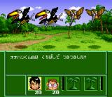 Jungle Wars 2:  Kodai Mahō Atimos no Nazo  SNES Attacked and hurt by birds and insects