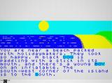 JAWS: The Text Adventure Browser Another part of the beach and more food