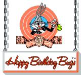 The Bugs Bunny Birthday Blowout NES Title screen