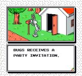 The Bugs Bunny Birthday Blowout NES Screen from the intro