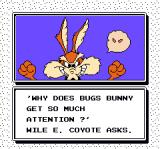 The Bugs Bunny Birthday Blowout NES What a deep story !
