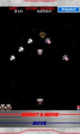 Galaga: Tekken - 20th Anniversary Edition Android Shooting begins (Yes, he really does shoot his own head)