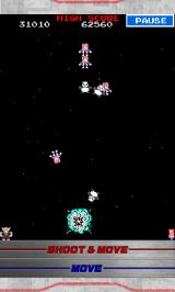 Galaga: Tekken - 20th Anniversary Edition Android Getting killed