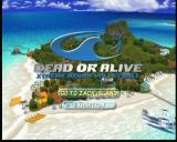 Dead or Alive: Xtreme Beach Volleyball Xbox Main menu