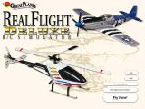 Real Flight R/C Simulator Deluxe Windows Title Screen