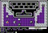 Shadowforge Apple II Title screen
