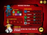 LEGO Ninjago: Ninjago Rush Browser Customising ninja