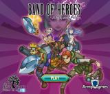 Band of Heroes: Might and Pillage Browser Start screen