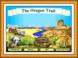 The Oregon Trail Windows 3.x Main Menu