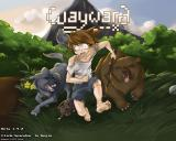 Wayward Browser Main title. The game detects what browser is being used.