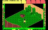 Fairlight II Amstrad CPC Avoid or fight the dog?