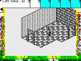 Fairlight II ZX Spectrum Exploring the corridors