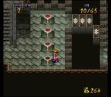 Terranigma SNES Puzzle: press the buttons to build a bridge to the other side