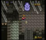 Terranigma SNES A statue is spitting on me. Dig the light effects