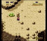 Terranigma SNES Some physical activities are possible. Throwing stones while a cactus is watching. Or are those brussel sprouts?..