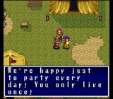 Terranigma SNES This is the kind of philosophy that must have caused this world to submerge the first time around