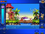 Shantae: Risky's Revenge iPad Fighting monsters.
