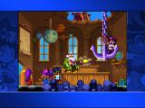 Shantae: Risky's Revenge iPad Risky Boots crashes the party.