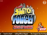Mighty Switch Force!: Hose It Down! iPad Title screen.