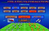 Action Soccer DOS Strategy & formation selection