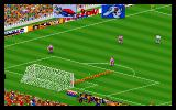 Action Soccer DOS Goalkeeper kick off