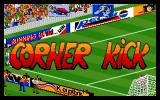 Action Soccer DOS Corner kick