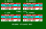 Wembley Greyhounds Amstrad CPC Choose a bookie to bet with
