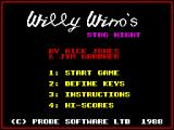 Mr Wino ZX Spectrum Title Screen