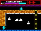 Mr Wino ZX Spectrum Avoid the falling objects