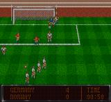 Striker SNES After a free kick