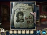 Death at Fairing Point: A Dana Knightstone Novel iPad The obituary for David...with 'Help Me' written in blood.