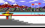 Winter Games PC-88 Opening ceremony