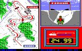 Winter Games PC-88 Bobsled