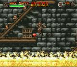 Indiana Jones' Greatest Adventures SNES Escaping the flames