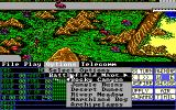 Operation Com●Bat: Computer Battle Game DOS There are six battle maps to choose from