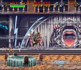 Indiana Jones' Greatest Adventures SNES Shanghai - In this stage you have to avoid the crosshairs