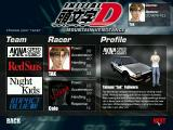 Initial D: Mountain Vengeance Windows Choose your racer
