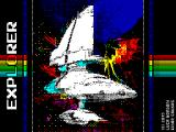 EXPLORER ZX Spectrum Loading screen
